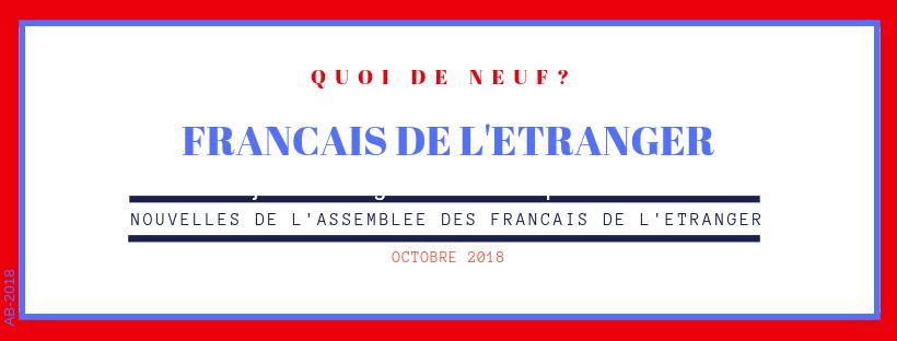 FRANCAIS DE L'ETRANGER: Quoi deneuf?