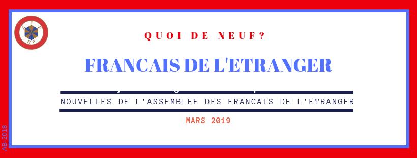 Echos de l'Assemblée des Français de l'Etranger