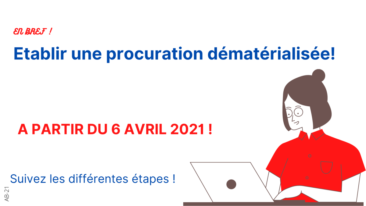 PROCURATIONS PAR TELEPROCEDURE !